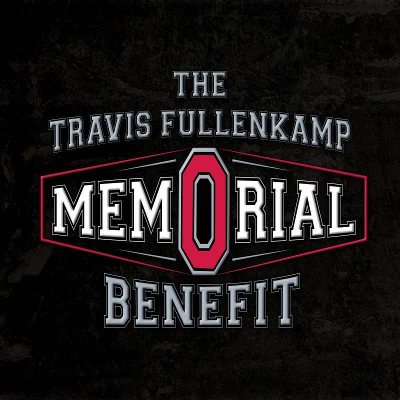 """Bài tham dự cuộc thi #                                        22                                      cho                                         The event name is """"The Travis Fullenkamp Memorial Benefit"""".  The theme of this event is Ohio State. Please incorporate the attached file into the logo. Colors should be gray, white, black and red."""