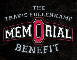 "#30 cho The event name is ""The Travis Fullenkamp Memorial Benefit"".  The theme of this event is Ohio State. Please incorporate the attached file into the logo. Colors should be gray, white, black and red. bởi samihaislam28"