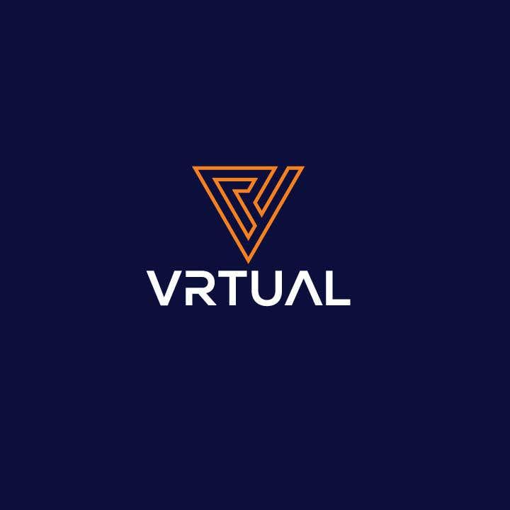 """Intrarea #                                        67                                      pentru concursul """"                                        logo for my business - VRtual                                     """""""