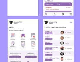 #88 untuk Redesign my mobile layout for my web app oleh himanshubhatti20