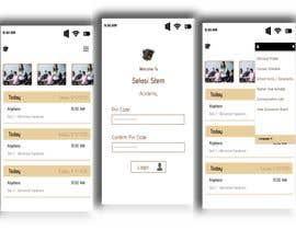 #70 untuk Redesign my mobile layout for my web app oleh mmesmail