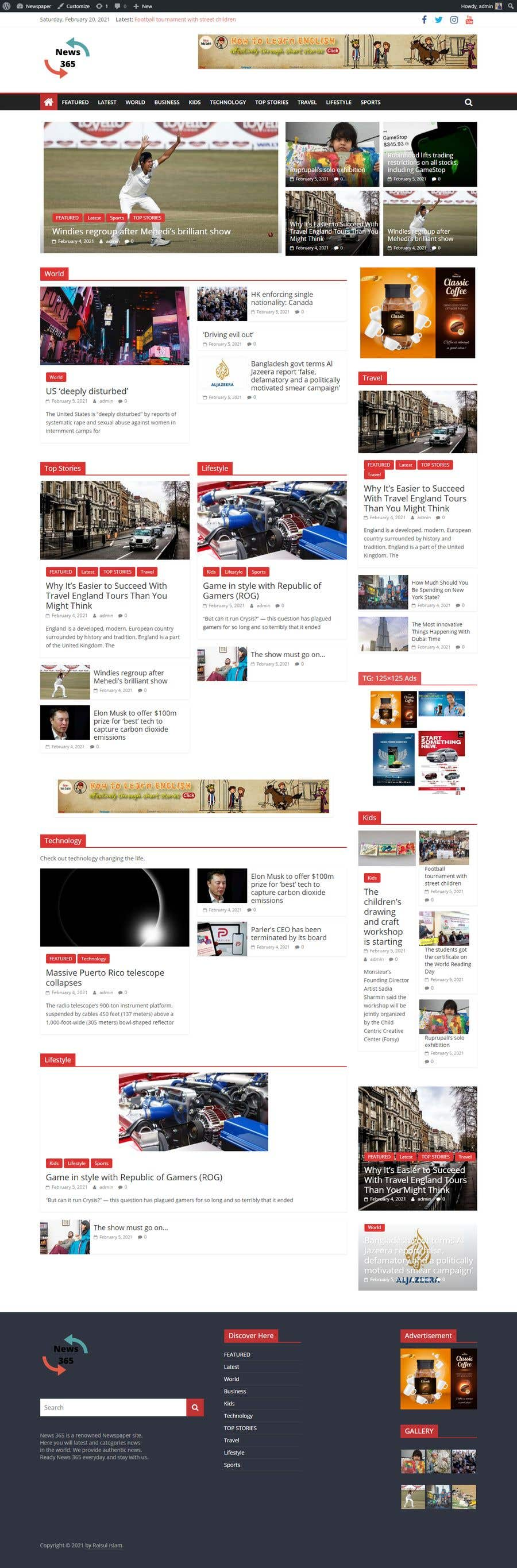 Contest Entry #                                        13                                      for                                         Design this webpage better