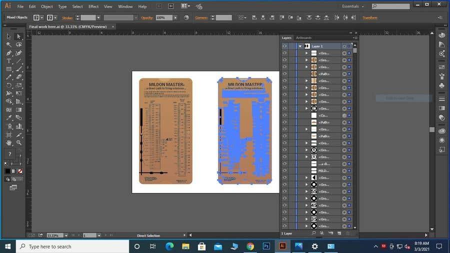 Kilpailutyö #                                        10                                      kilpailussa                                         Make Editable Adobe Illustrator File for New Product