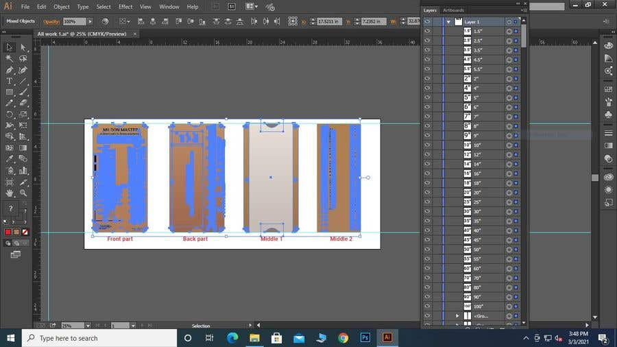 Kilpailutyö #                                        14                                      kilpailussa                                         Make Editable Adobe Illustrator File for New Product