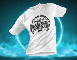 #29 untuk Gaming T-Shirt's oleh asifhassansabbir
