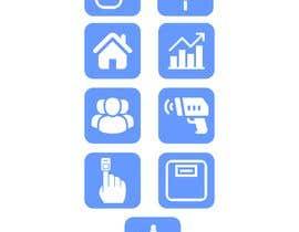 #6 untuk Medical Sensor Icons oleh farizibnus