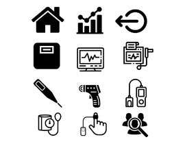 #4 for Medical Sensor Icons by slomismail