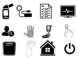 #5 untuk Medical Sensor Icons oleh sajalahmed792