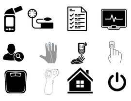 #5 for Medical Sensor Icons by sajalahmed792