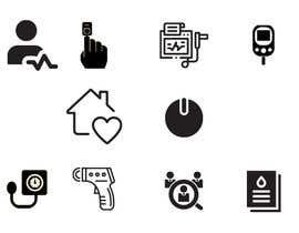 #14 untuk Medical Sensor Icons oleh Jannatulnayem283