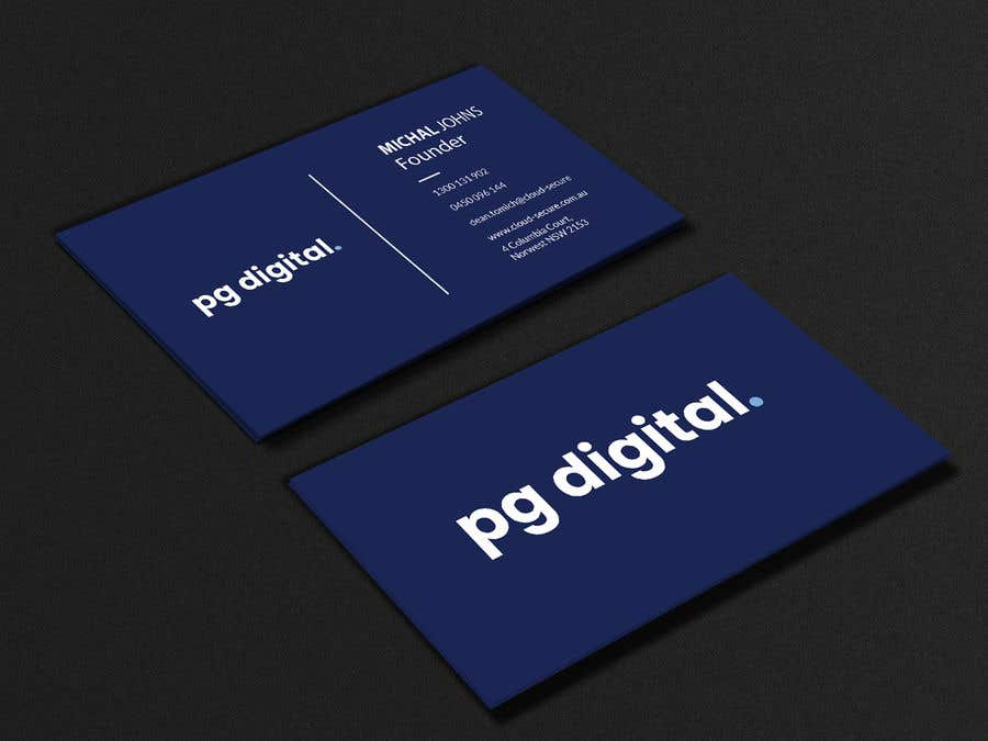 Bài tham dự cuộc thi #                                        122                                      cho                                         Business Card Design - PG