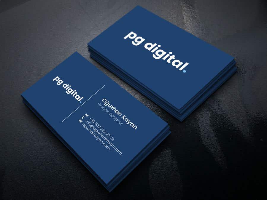 Bài tham dự cuộc thi #                                        84                                      cho                                         Business Card Design - PG