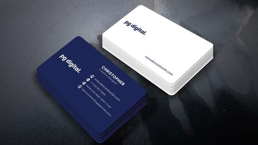 Bài tham dự cuộc thi #                                        53                                      cho                                         Business Card Design - PG