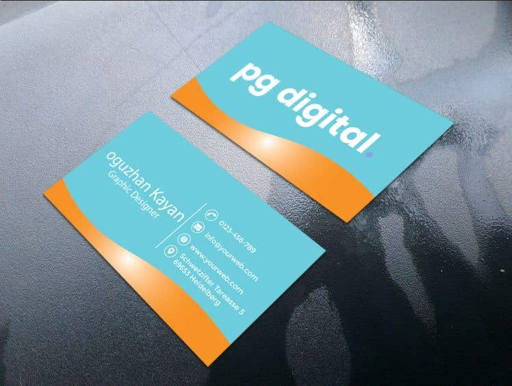 Bài tham dự cuộc thi #                                        117                                      cho                                         Business Card Design - PG