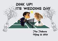 "Graphic Design Intrarea #71 pentru concursul ""Pickle Ball Wedding T Shirt Logo"""