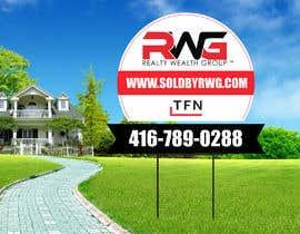 Nro 33 kilpailuun New Real Estate Signage! käyttäjältä creativeabrar16
