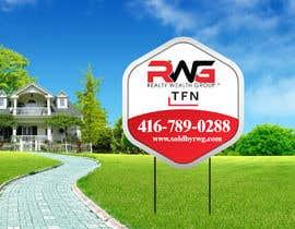 Nro 34 kilpailuun New Real Estate Signage! käyttäjältä creativeabrar16
