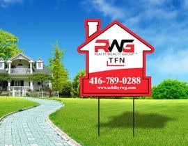 Nro 36 kilpailuun New Real Estate Signage! käyttäjältä creativeabrar16