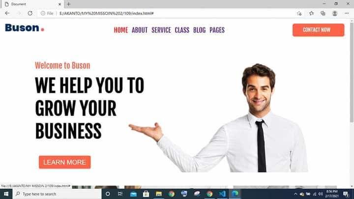 Konkurrenceindlæg #                                        30                                      for                                         Html Website template