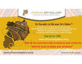 #4 for design a banner of an art gallery inviting artist to advertise on the marketplace af mycreativeworld1