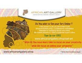 #9 for design a banner of an art gallery inviting artist to advertise on the marketplace af mycreativeworld1
