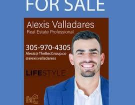 #13 untuk Alexis Valladares - FOR SALE Sign oleh AhasanBhuiyan