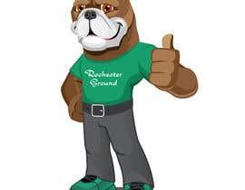 #43 untuk Mascot Dog Cartoon oleh sarinah55