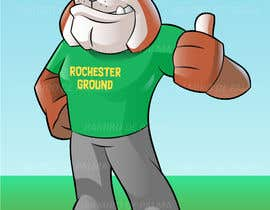 #65 untuk Mascot Dog Cartoon oleh depalmaramiro