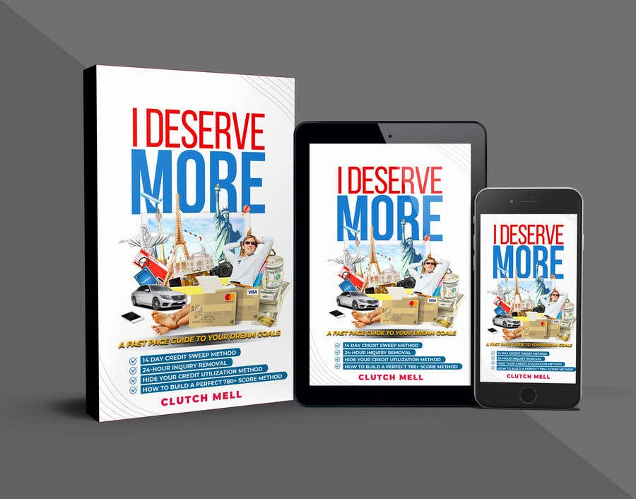 "Bài tham dự cuộc thi #                                        34                                      cho                                         Ebook Cover to ""I Deserve More"""