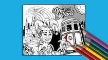 Illustration Inscrição do Concurso Nº21 para Hand drawn coloring page