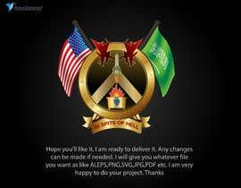 #27 untuk Military Moral Logo oleh tonmoyraj1