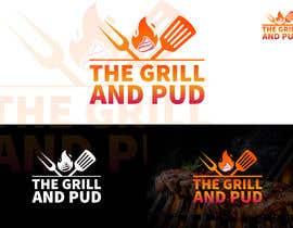 """Nro 480 kilpailuun LOGO DESIGN FOR. """"The Grill and Pud"""" käyttäjältä graphicalegend"""