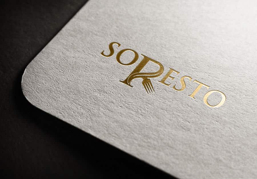 Penyertaan Peraduan #                                        424                                      untuk                                         Design logo for SORESTO
