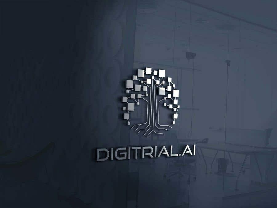 Penyertaan Peraduan #                                        220                                      untuk                                         Logo improvement for digitrial.ai