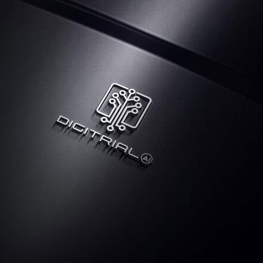 Penyertaan Peraduan #                                        189                                      untuk                                         Logo improvement for digitrial.ai