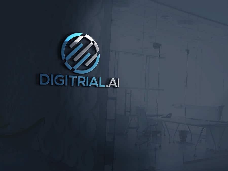 Penyertaan Peraduan #                                        122                                      untuk                                         Logo improvement for digitrial.ai