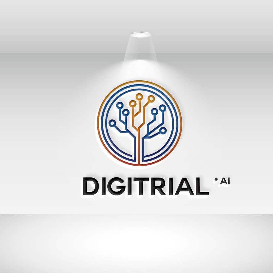 Penyertaan Peraduan #                                        48                                      untuk                                         Logo improvement for digitrial.ai