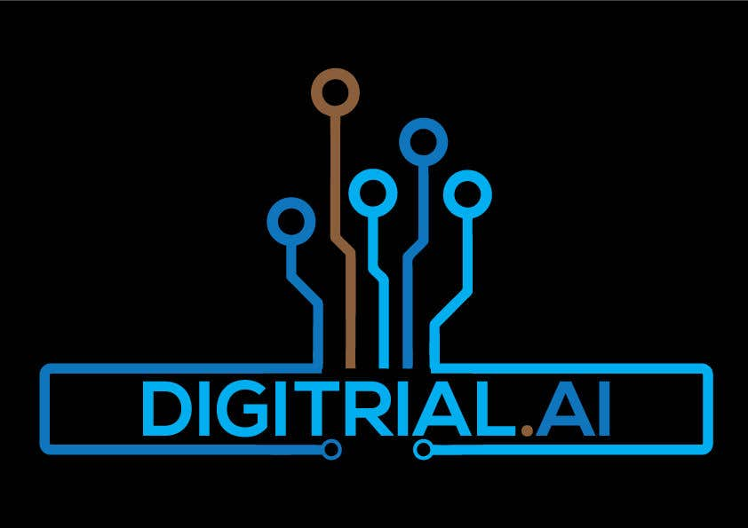 Penyertaan Peraduan #                                        87                                      untuk                                         Logo improvement for digitrial.ai