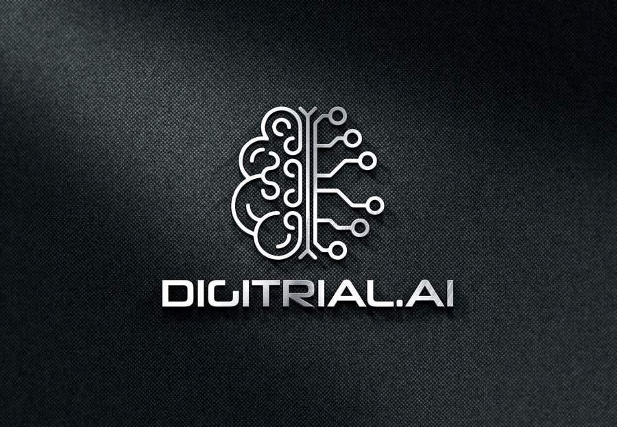 Penyertaan Peraduan #                                        155                                      untuk                                         Logo improvement for digitrial.ai