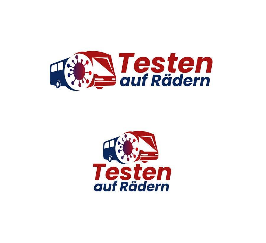 """Konkurrenceindlæg #                                        24                                      for                                         Logo for """"mobile COVID-test"""""""