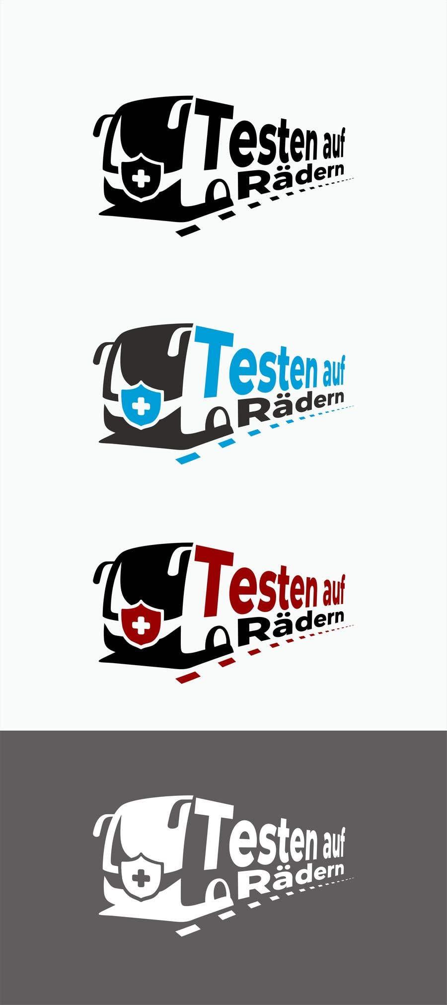 """Konkurrenceindlæg #                                        79                                      for                                         Logo for """"mobile COVID-test"""""""