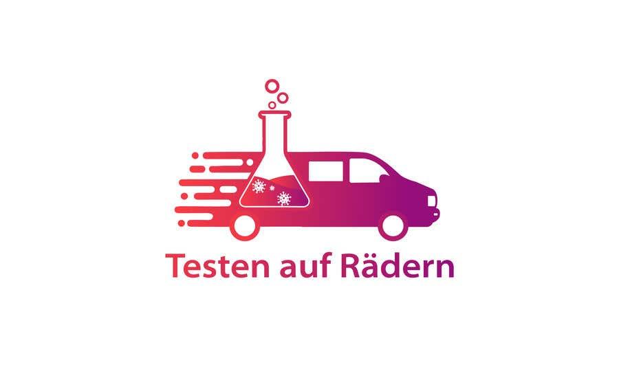 """Konkurrenceindlæg #                                        25                                      for                                         Logo for """"mobile COVID-test"""""""