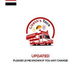 #39 untuk Lizeths Taco Truck Logo oleh procreative123