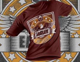 Nro 160 kilpailuun Eagles T-Shirt Design käyttäjältä badhan53