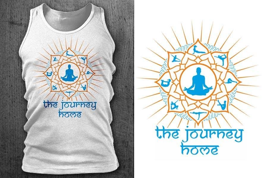 Kilpailutyö #38 kilpailussa Design a T-Shirt for a Yoga/Ashtanga inspired clothing company