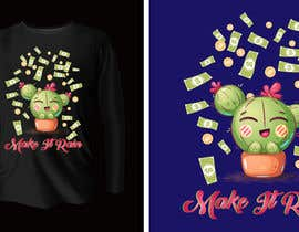 #55 for Artistic T-Shirt Design, Dancing Flower by muntaha03