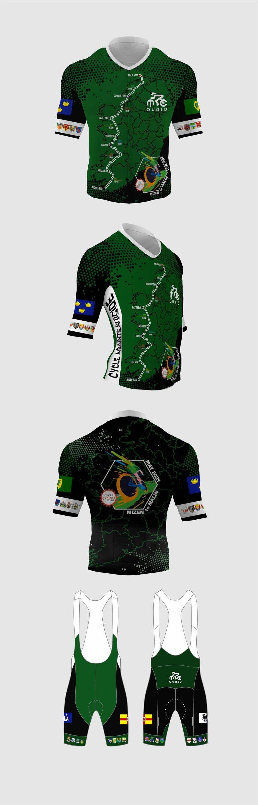 Конкурсная заявка №                                        4                                      для                                         cycling kit designed