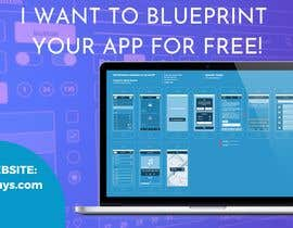 """#7 untuk A banner for my profiles that says """"I want to blueprint your app for free!"""". Make it interesting and clean. The final files must be sized for Facebook, LinkedIn and Twitter. Also include the company web address: theappguys.come oleh PrincessAj3"""
