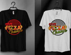 #112 for Artistic T-Shirt Design, Give Pizza Chance af kamrunfreelance8