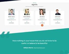 #8 for Design an attractive landing Page for us in wordpress (back end already done, need front end visuals) by hosnearasharif